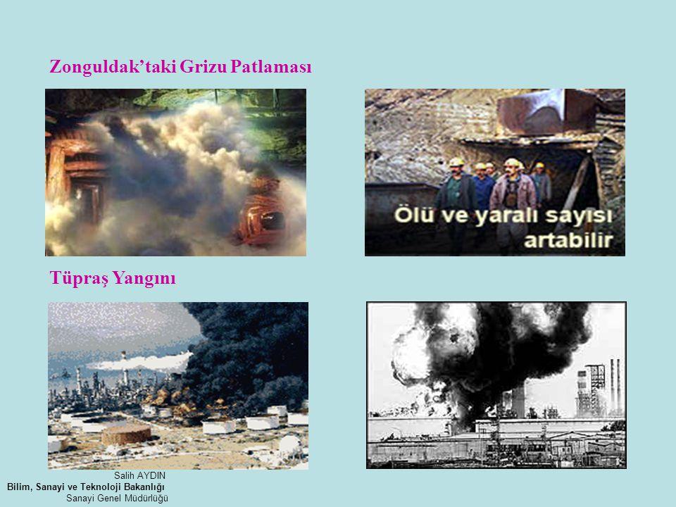 Zonguldak'taki Grizu Patlaması