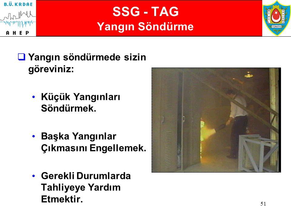 SSG - TAG Yangın Söndürme