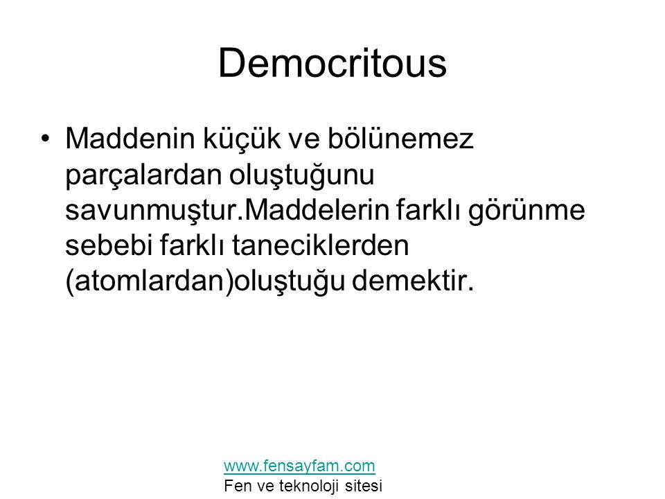 Democritous
