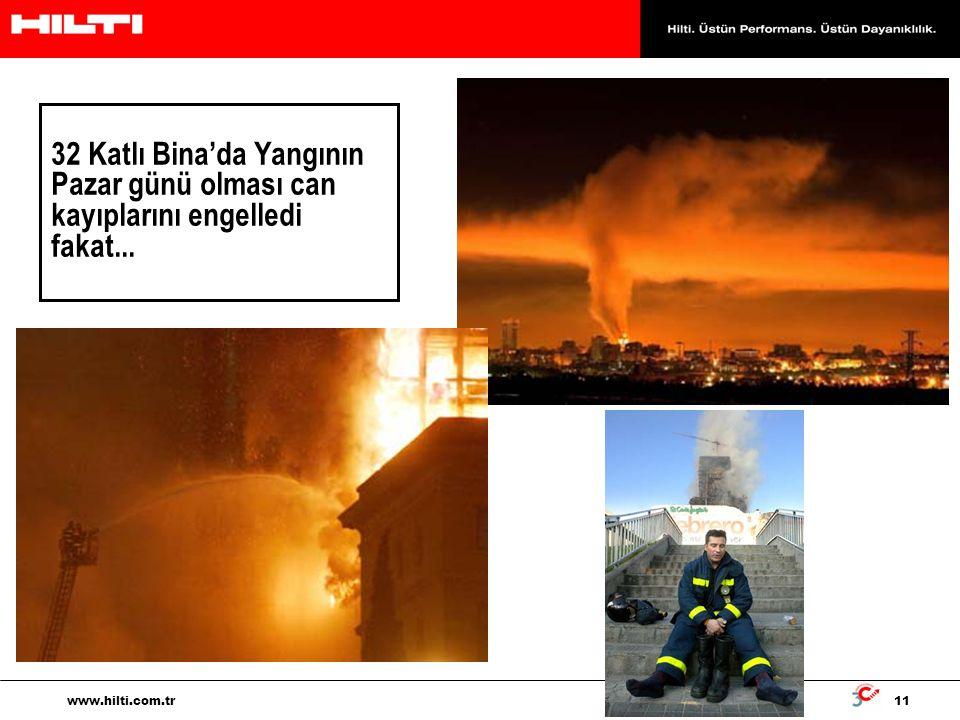 32 Katlı Bina'da Yangının Pazar günü olması can kayıplarını engelledi fakat...