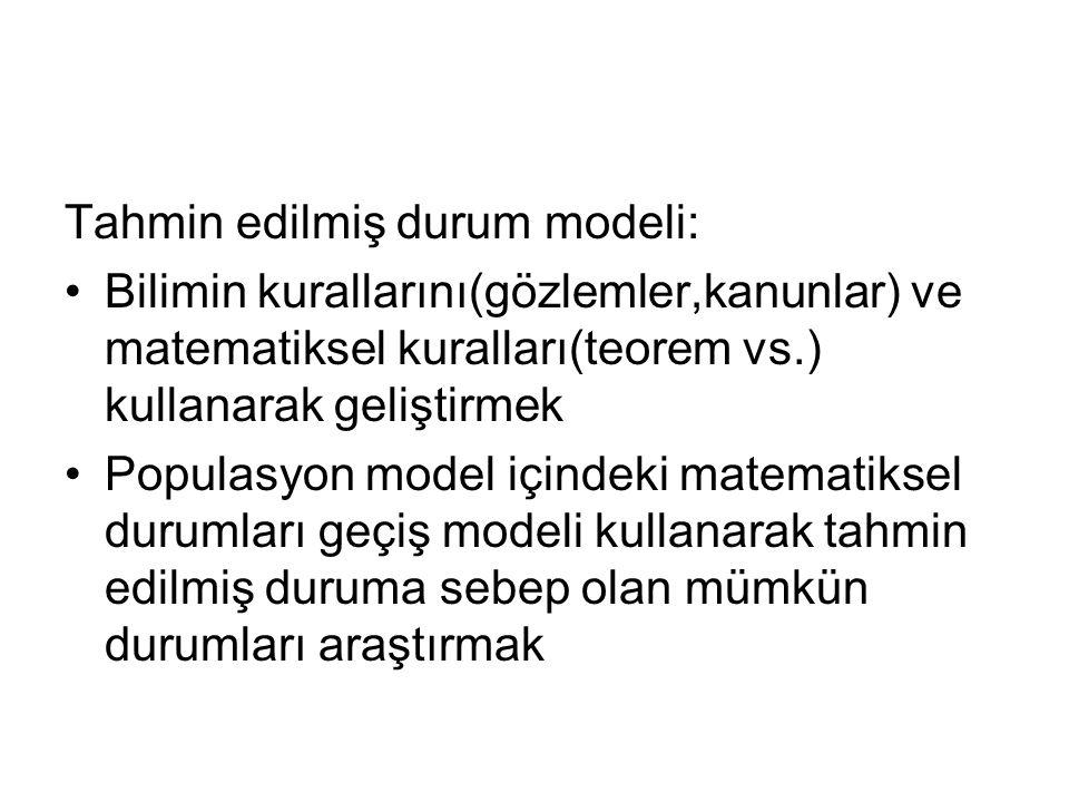 Tahmin edilmiş durum modeli: