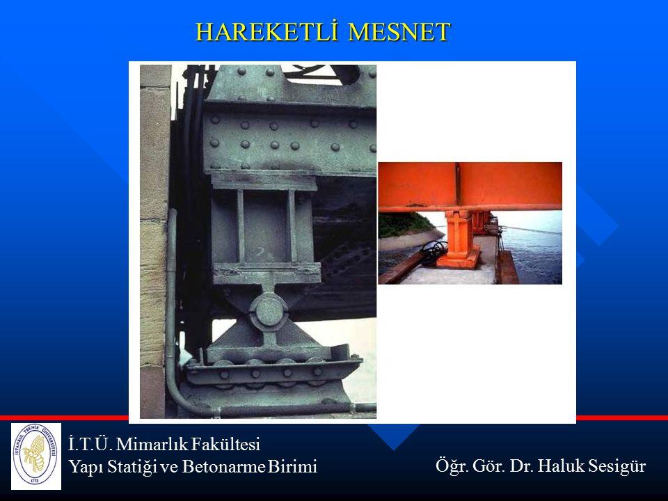 HAREKETLİ MESNET İ.T.Ü. Mimarlık Fakültesi