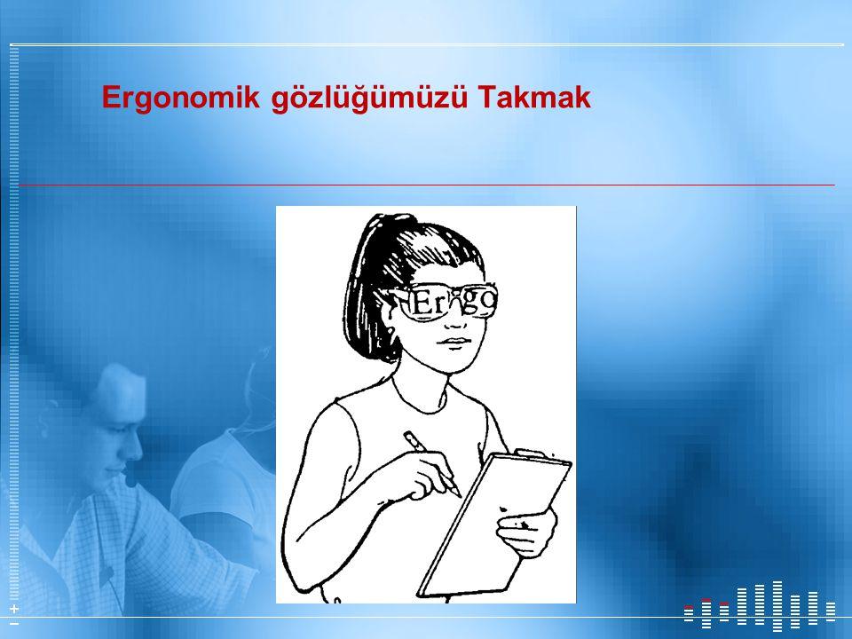 Ergonomik gözlüğümüzü Takmak
