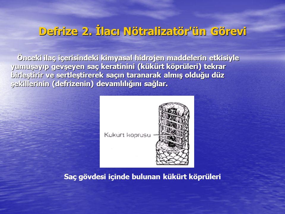 Defrize 2. İlacı Nötralizatör ün Görevi