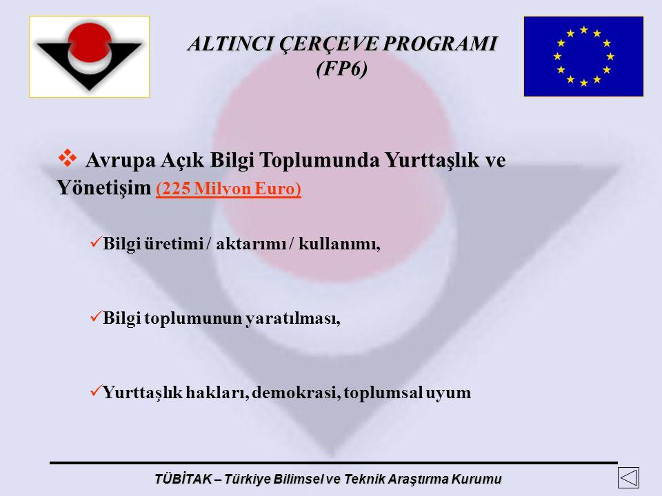 Avrupa Açık Bilgi Toplumunda Yurttaşlık ve Yönetişim (225 Milyon Euro)