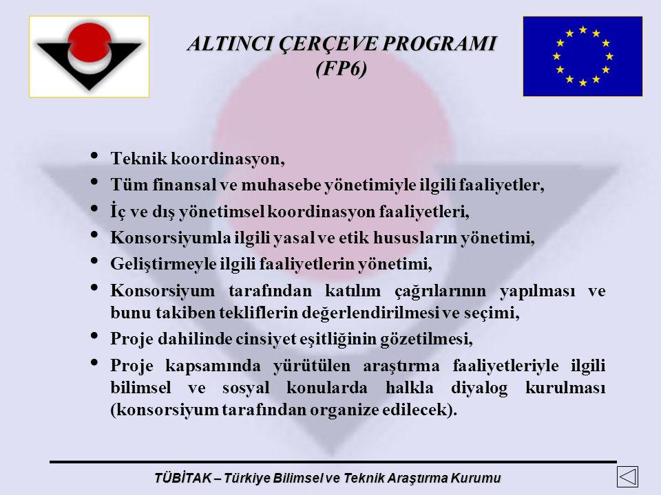 Teknik koordinasyon, Tüm finansal ve muhasebe yönetimiyle ilgili faaliyetler, İç ve dış yönetimsel koordinasyon faaliyetleri,