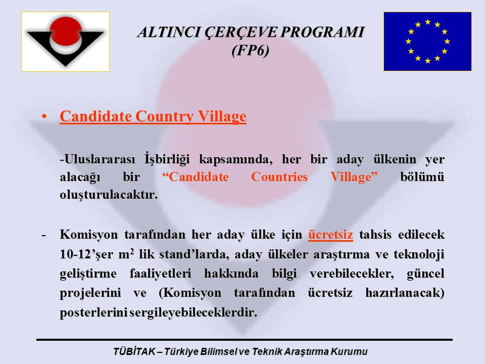 Candidate Country Village