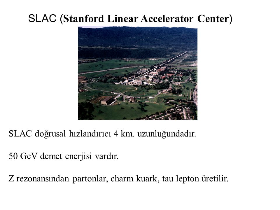 SLAC (Stanford Linear Accelerator Center)