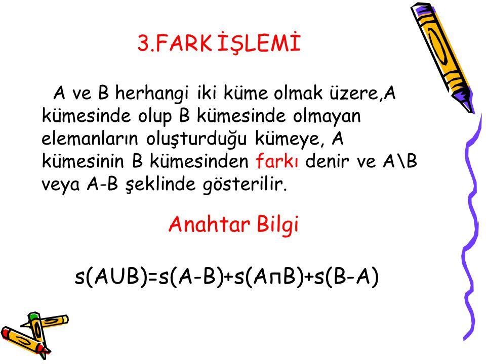 s(AUB)=s(A-B)+s(AпB)+s(B-A)