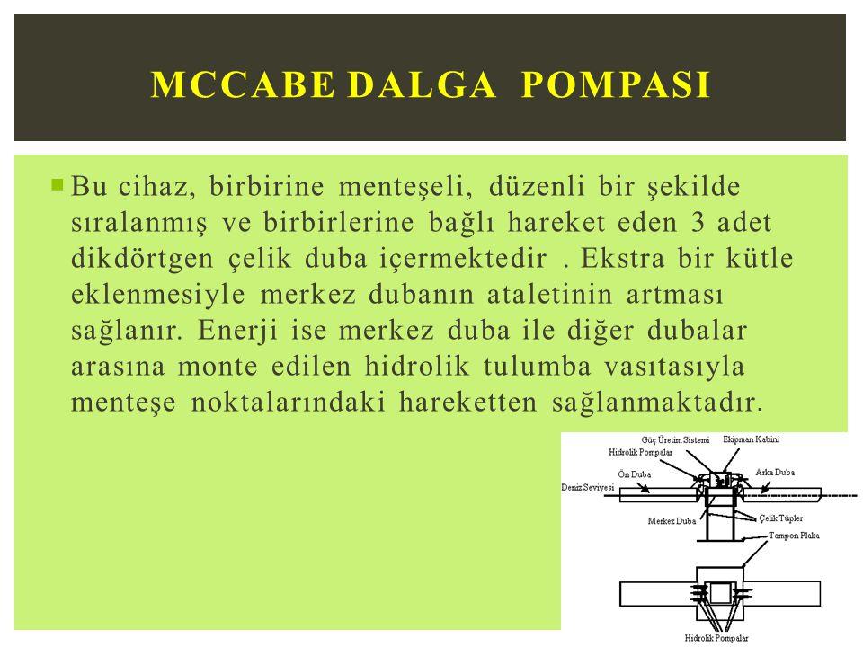 McCabe Dalga Pompasi