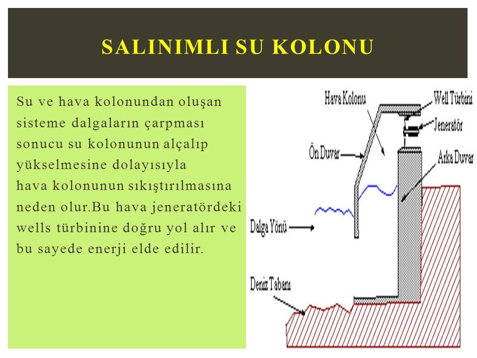 Salinimli Su Kolonu