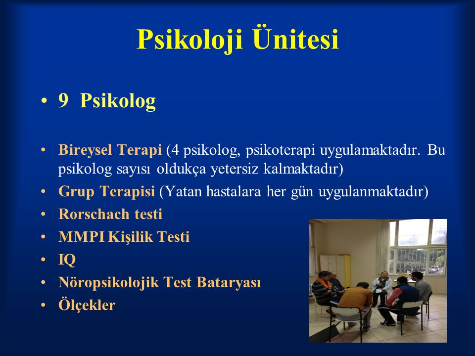 Psikoloji Ünitesi 9 Psikolog
