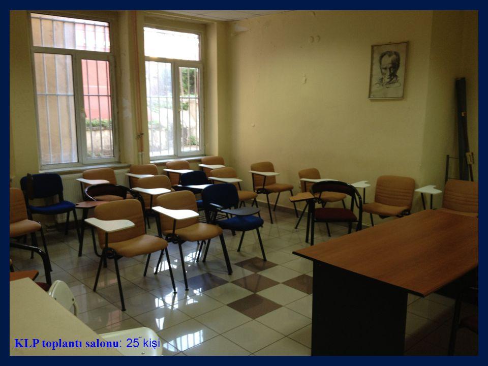 KLP toplantı salonu: 25 kişi