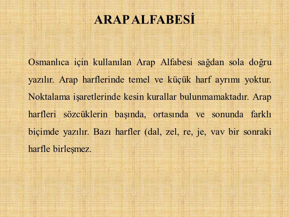 ARAP ALFABESİ