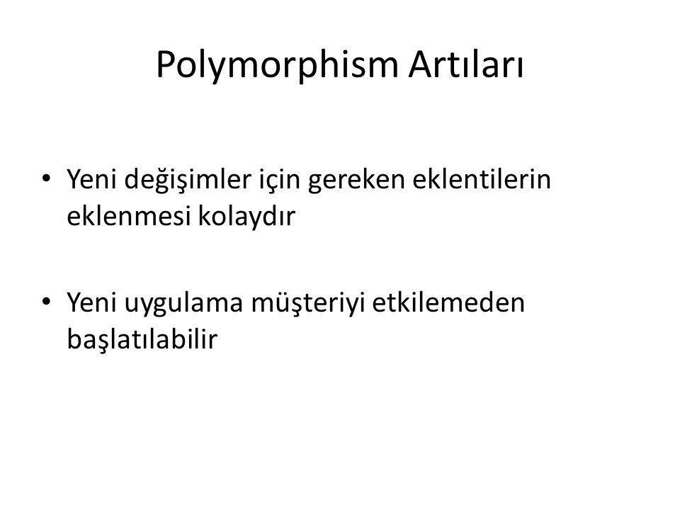 Polymorphism Artıları