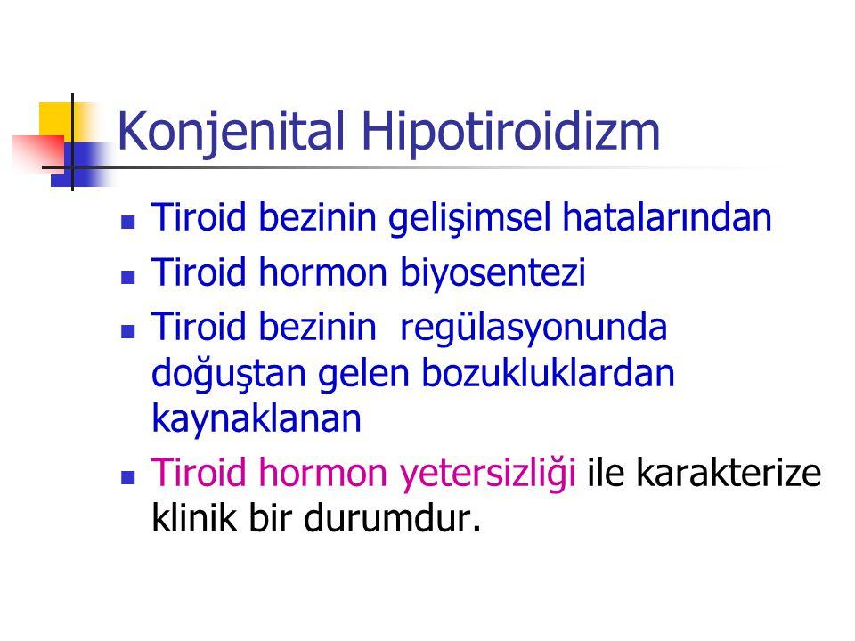 Konjenital Hipotiroidizm