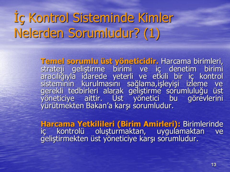 İç Kontrol Sisteminde Kimler Nelerden Sorumludur (1)