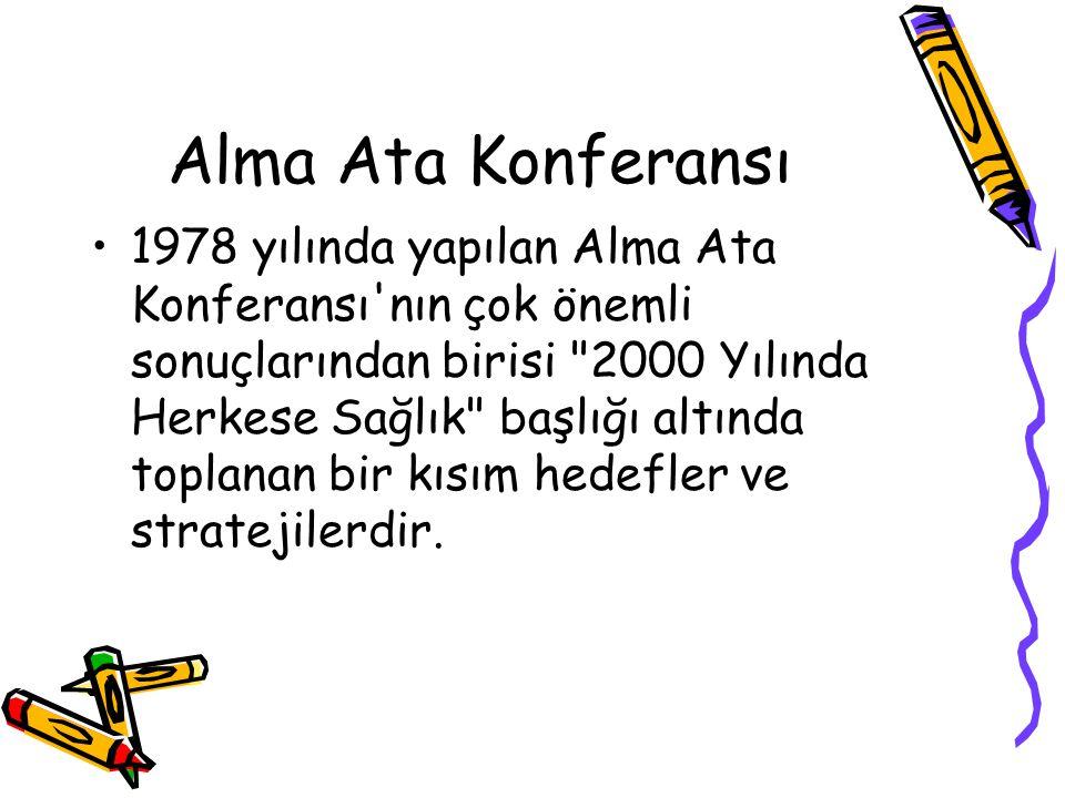 Alma Ata Konferansı