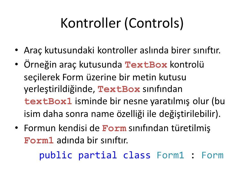 Kontroller (Controls)