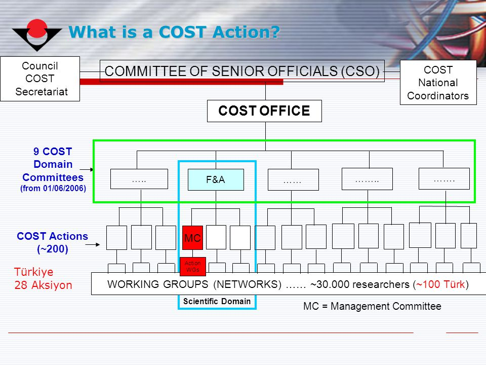 9 COST Domain Committees