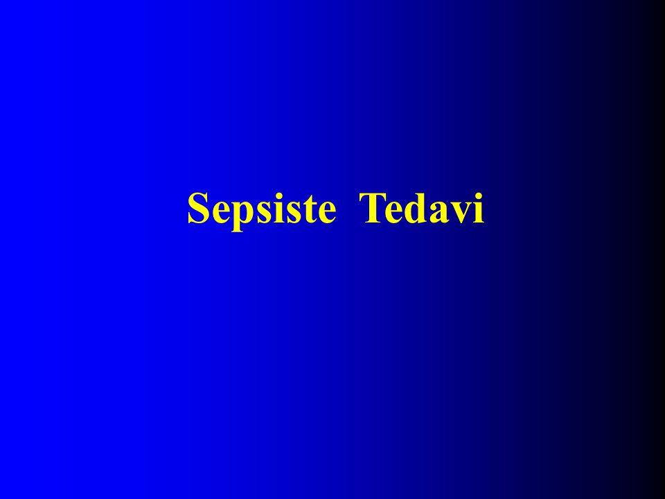 Sepsiste Tedavi