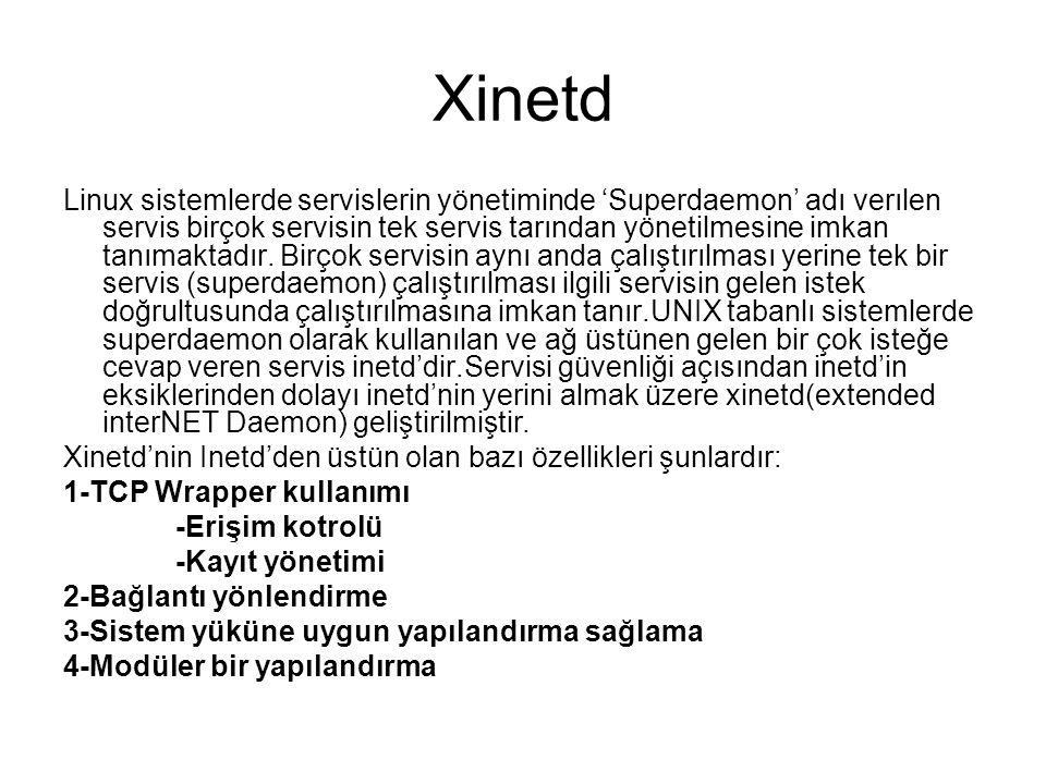 Xinetd