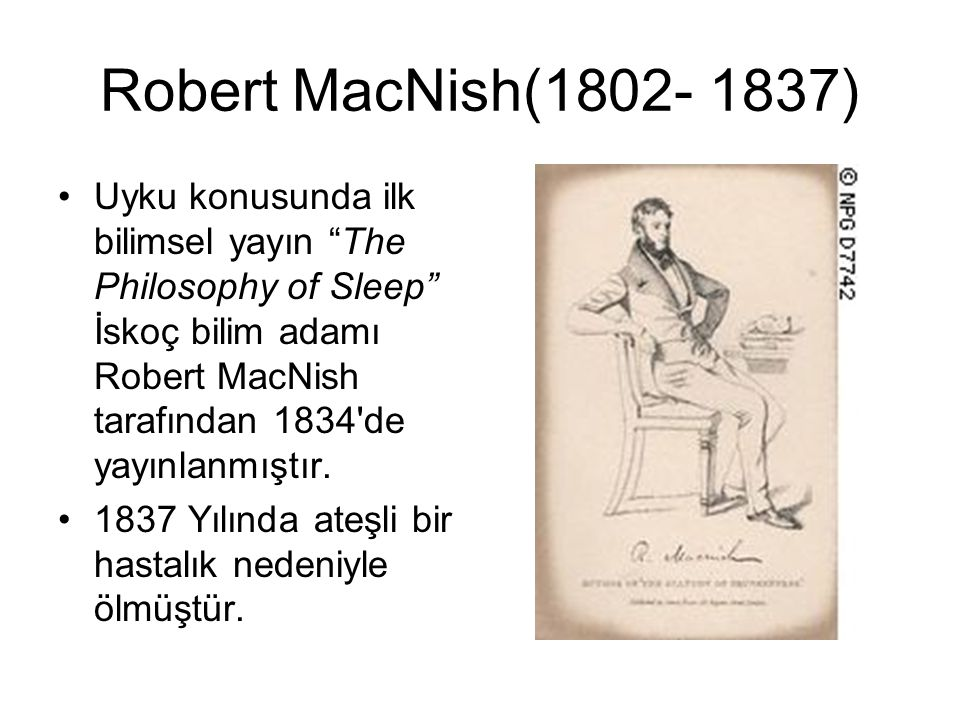 Robert MacNish(1802- 1837)