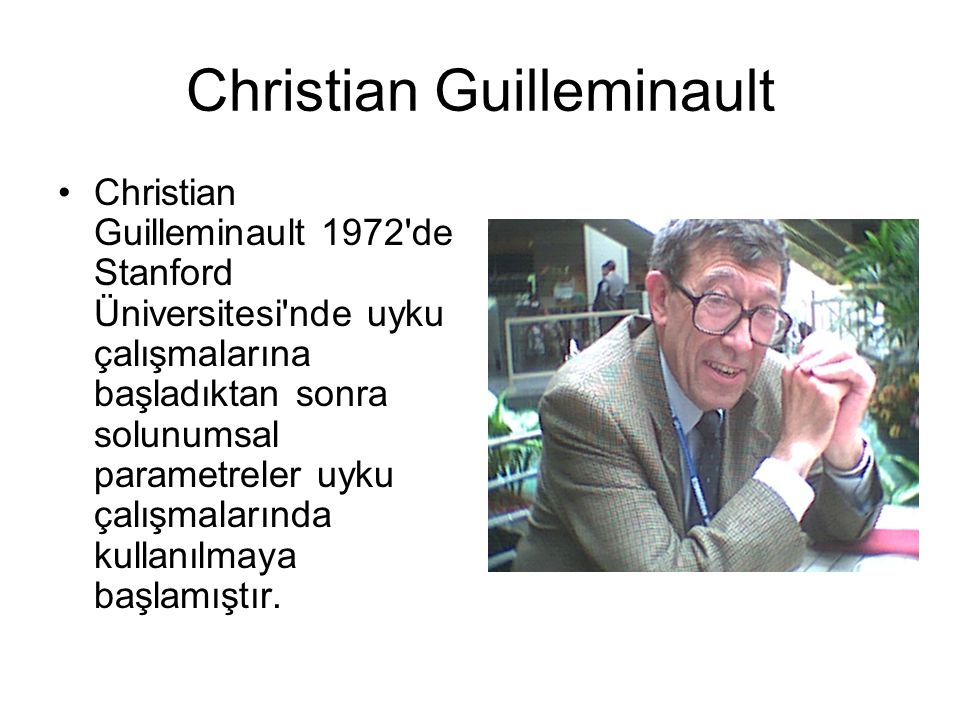 Christian Guilleminault