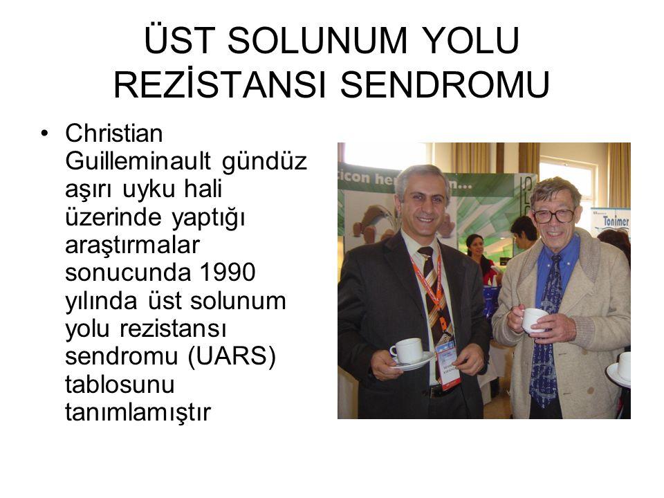 ÜST SOLUNUM YOLU REZİSTANSI SENDROMU