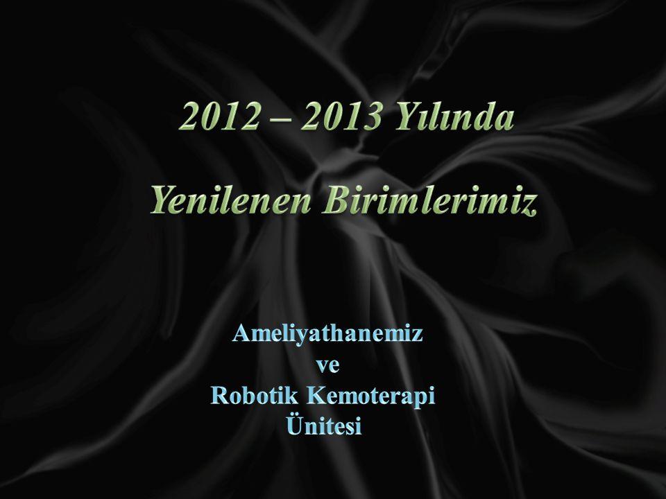 2012 – 2013 Yılında Yenilenen Birimlerimiz