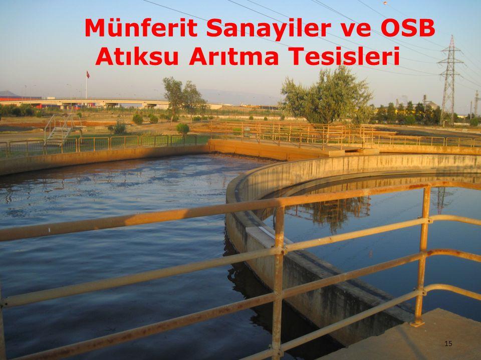 Münferit Sanayiler ve OSB Atıksu Arıtma Tesisleri
