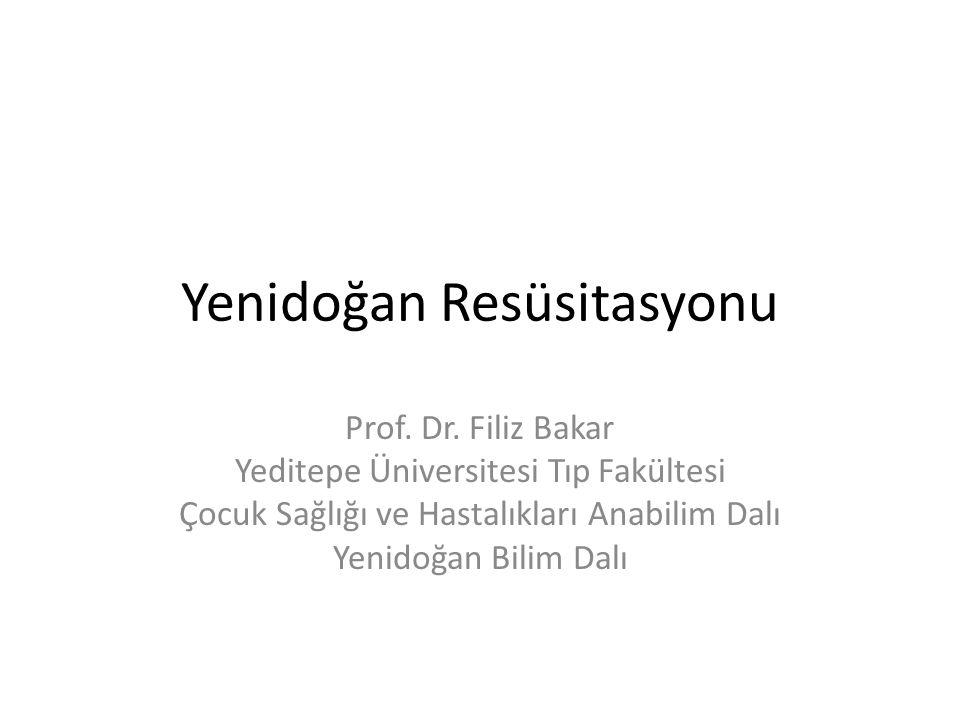 Yenidoğan Resüsitasyonu