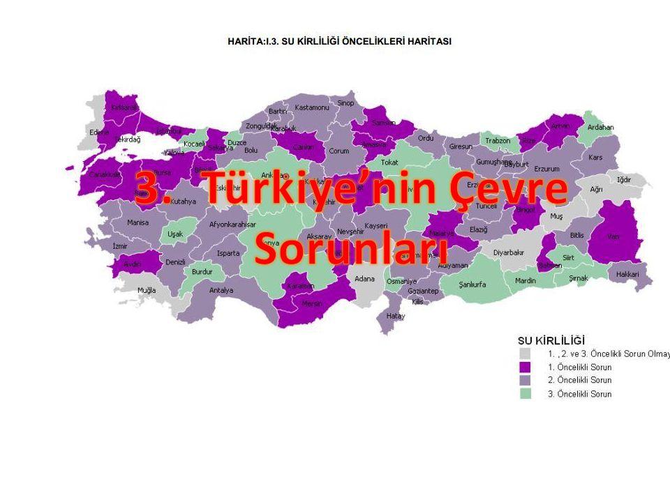 3. Türkiye'nin Çevre Sorunları