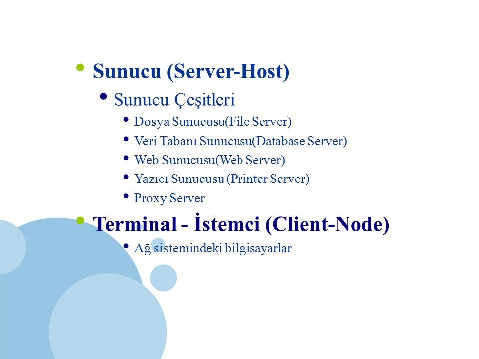 Terminal - İstemci (Client-Node)
