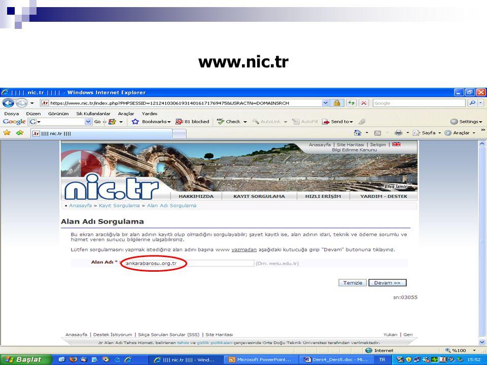 www.nic.tr