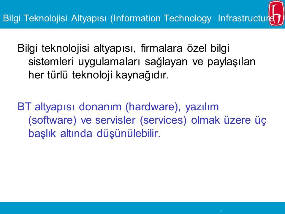 Bilgi Teknolojisi Altyapısı (Information Technology Infrastructure )