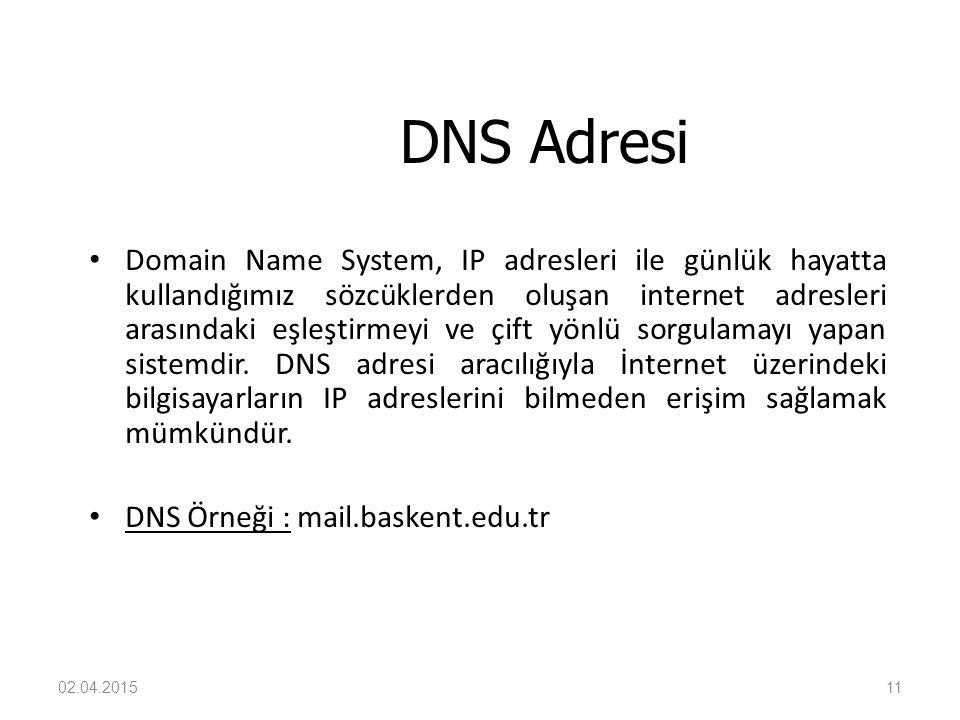 DNS Adresi