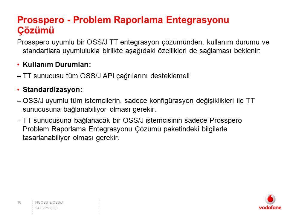 Prosspero - Problem Raporlama Entegrasyonu Çözümü