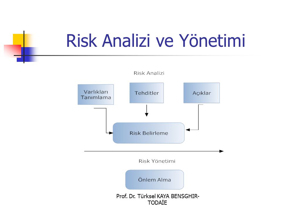 Risk Analizi ve Yönetimi