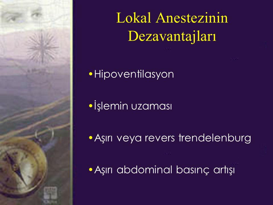 Lokal Anestezinin Dezavantajları