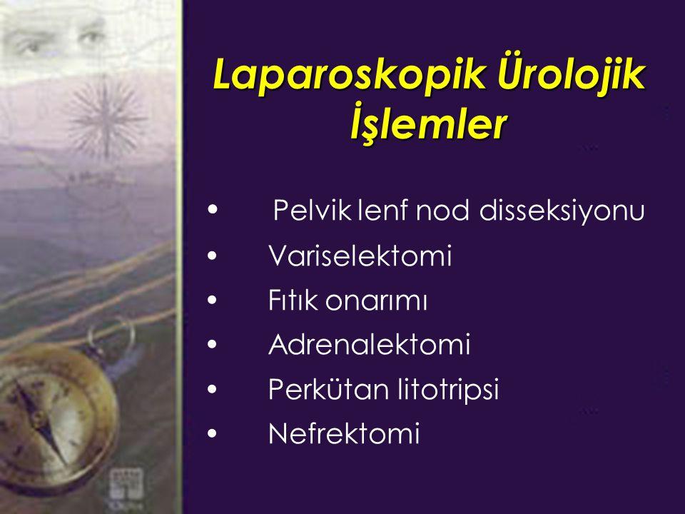 Laparoskopik Ürolojik İşlemler