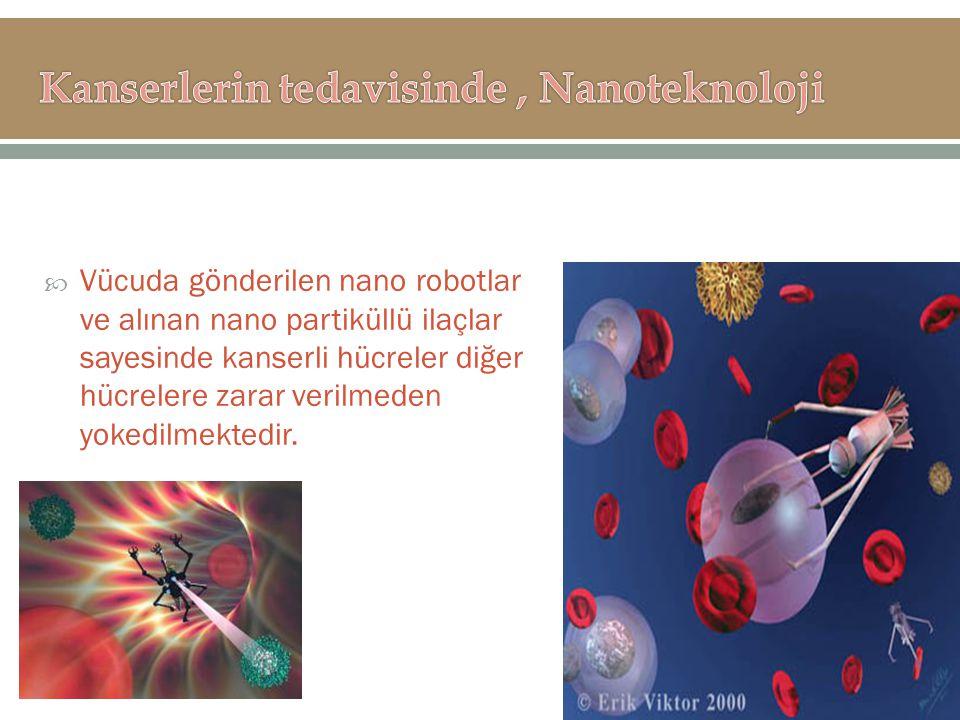 Kanserlerin tedavisinde , Nanoteknoloji