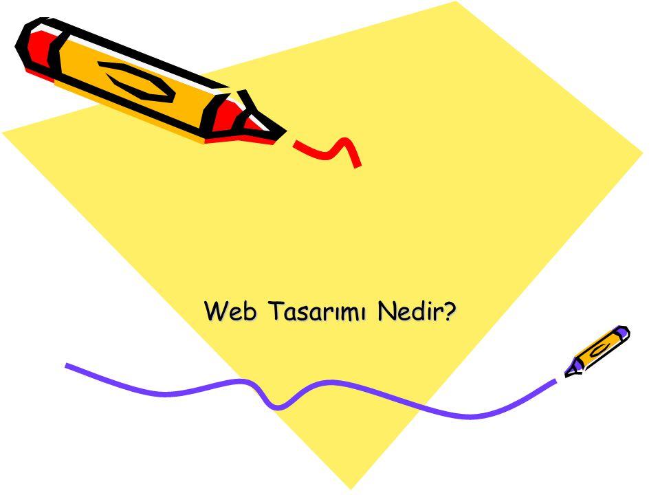 Web Tasarımı Nedir