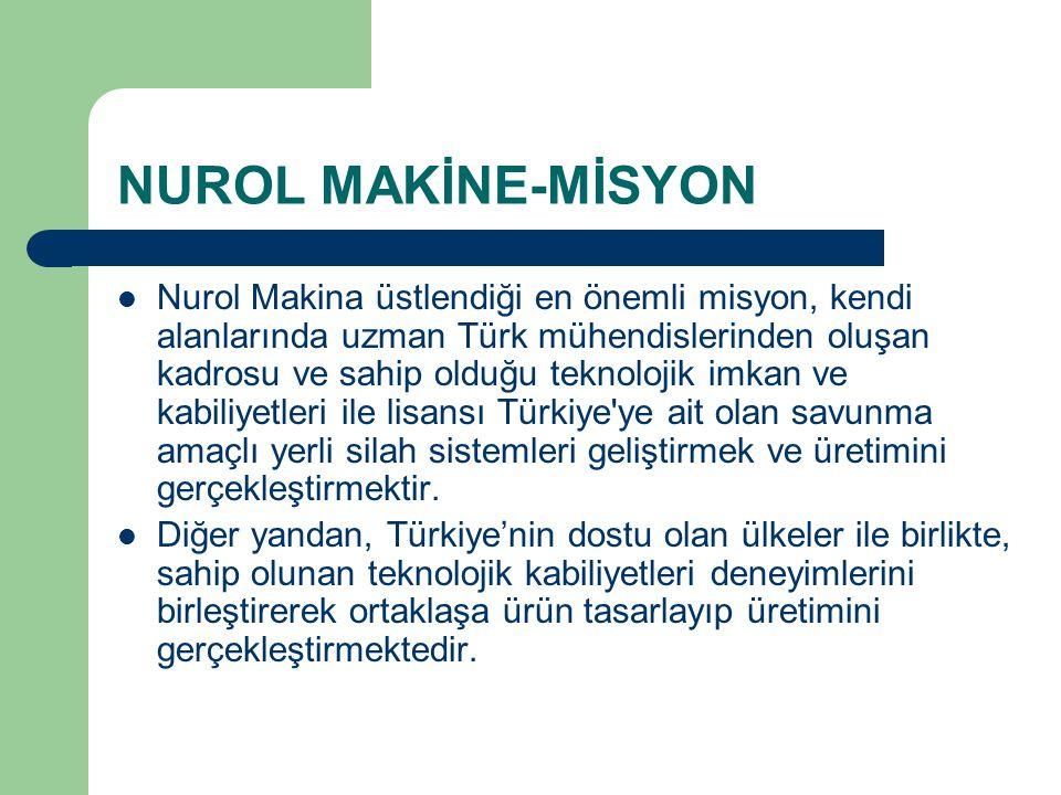 NUROL MAKİNE-MİSYON
