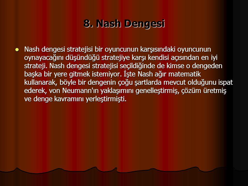 8. Nash Dengesi