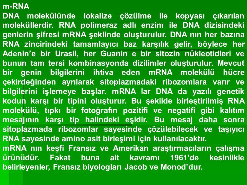 m-RNA