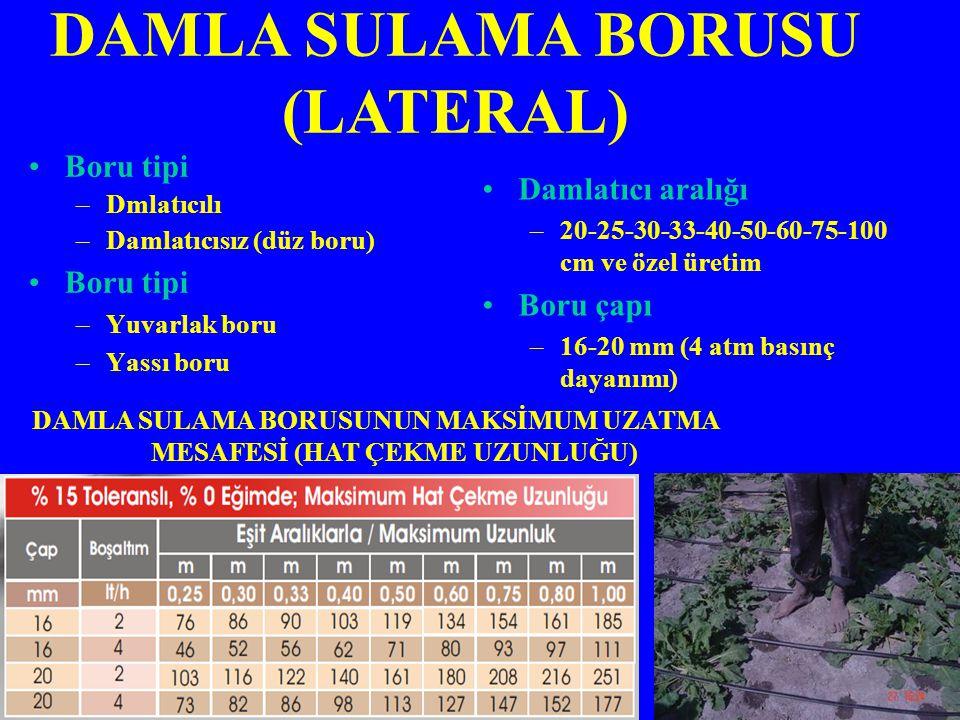DAMLA SULAMA BORUSU (LATERAL)