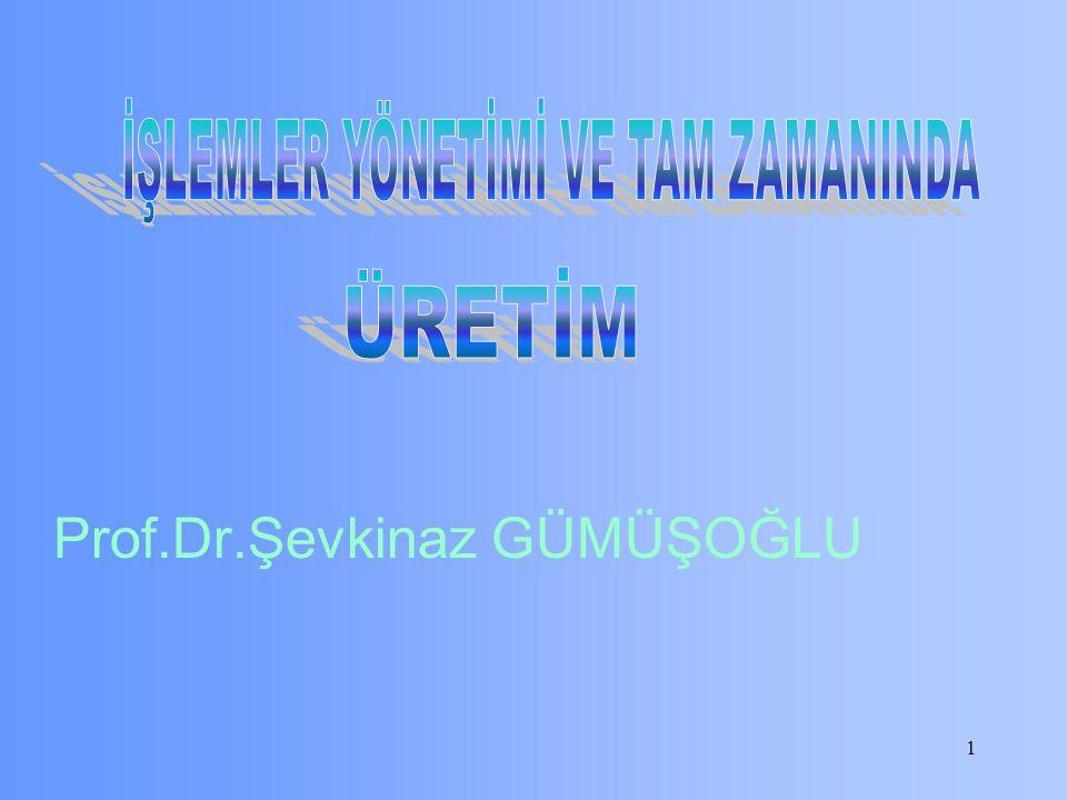 Prof.Dr.Şevkinaz GÜMÜŞOĞLU