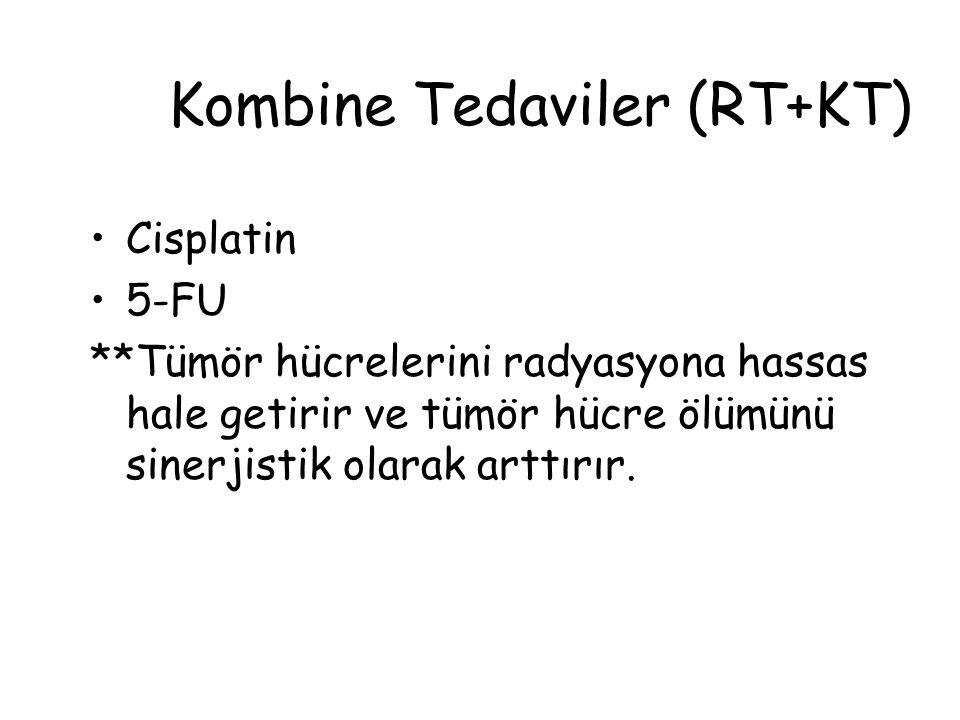 Kombine Tedaviler (RT+KT)