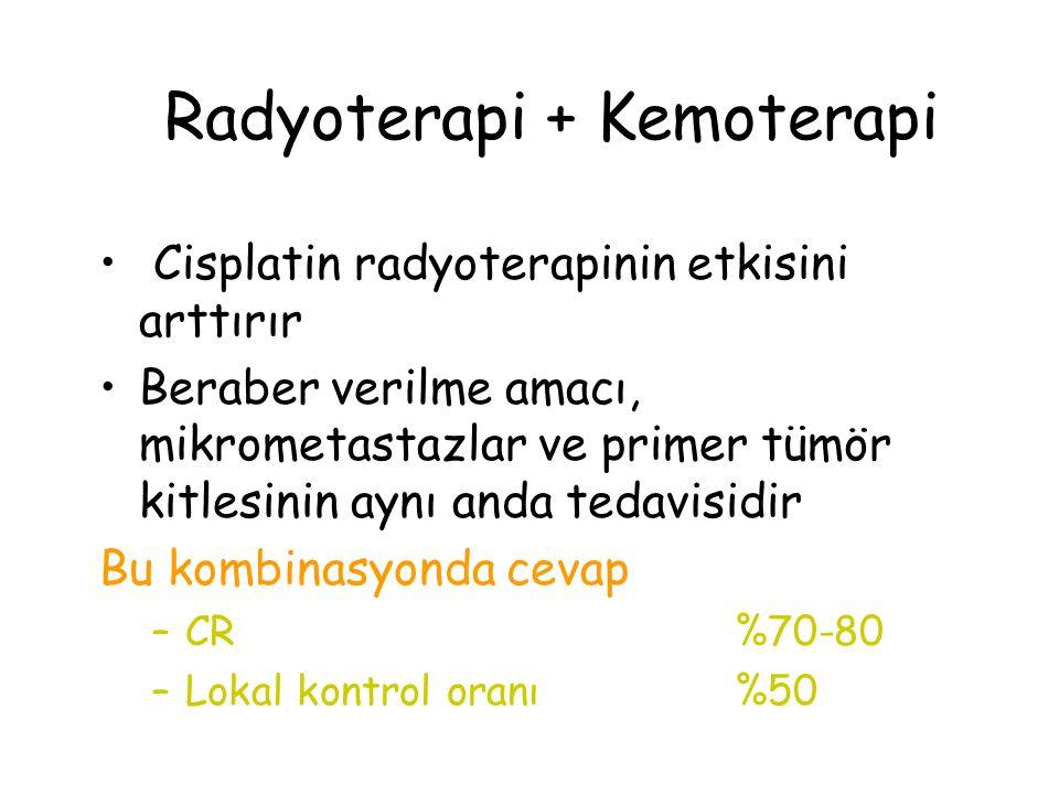 Radyoterapi + Kemoterapi